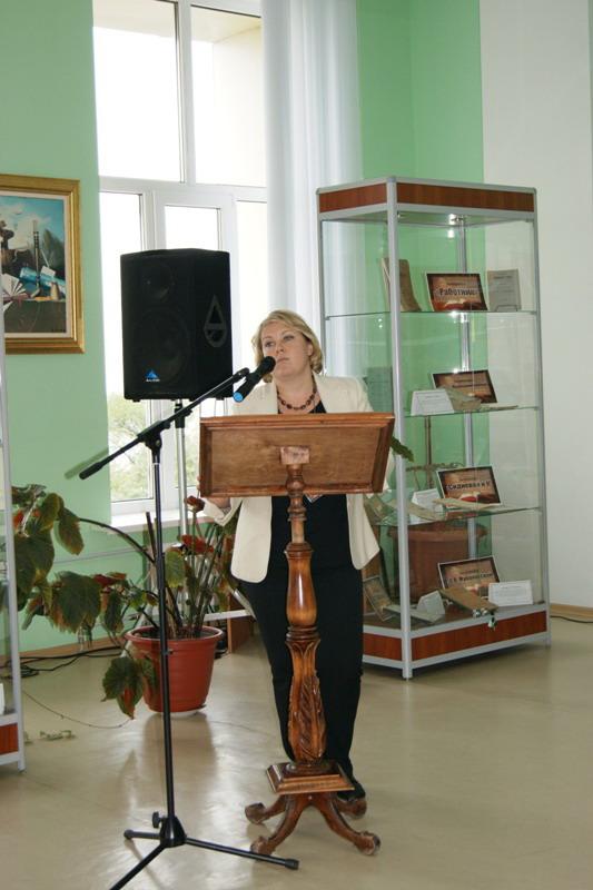 Слепова О.М. Директор ЦБС г. Ульяновска