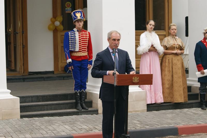 В открытии принял участие Губернатор-Председатель Правительства Ульяновской области Сергей Иванович Морозов