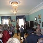 Гости в музее Гончарова